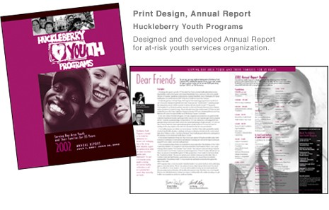 Huckleberry Youth Program annual report